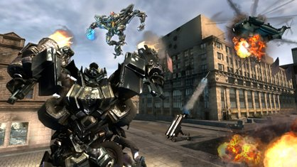Гра Transformers Battle Game